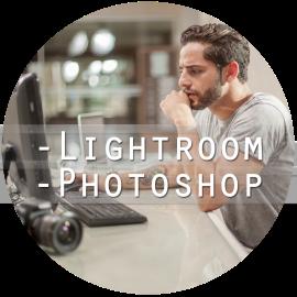 curso photoshop e Lightroom